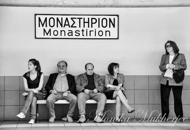 Athens, Greece by Monika Mukherjee