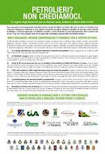 """Da """"No all'Italia petrolizzata"""" di M.R. D'Orsogna"""