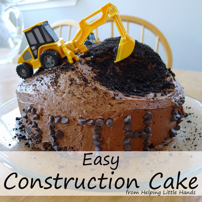 Pieces by Polly Easy Construction Cake
