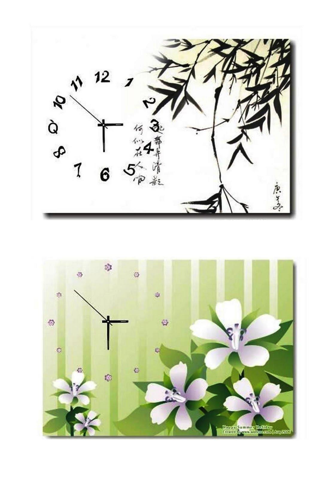 large wall clocks 1Panel 2Panel 3Panel Art Wall Clocks