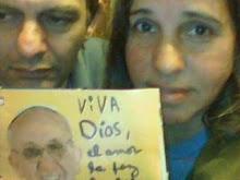 Marzo 2013 PAPA FRANCISCO Viva DIos la paz, libertad, amor, felicidad