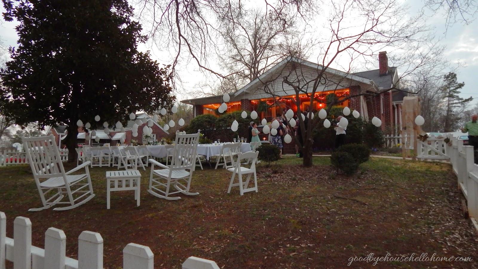 goodbye house hello home blog a southern wedding reception