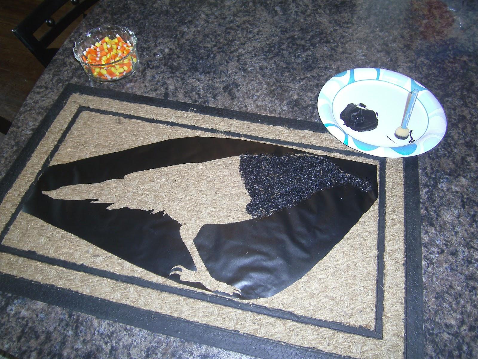 ChiKKaBoom Design DIY Crow Rug
