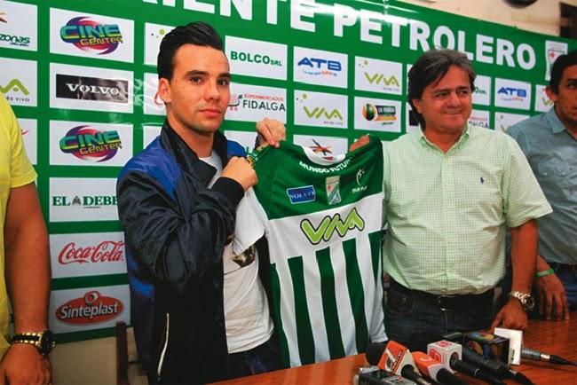 Oriente Petrolero - Juan Quero - Keko Álvarez - DaleOoo.com web del Club Oriente Petrolero