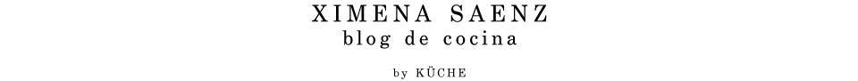 Ximena Saenz / blog de cocina