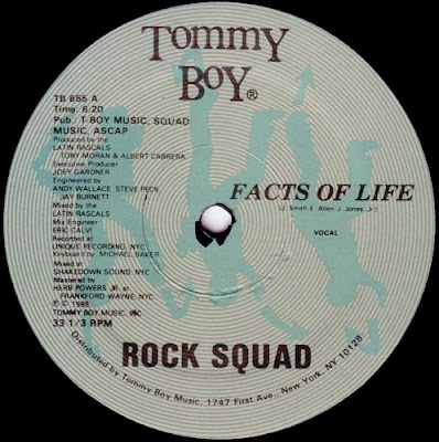 Rock Squad ‎– Facts Of Life (VLS) (1985) (256 kbps)