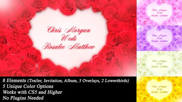 VideoHive Wedding Roses