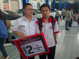 Kontes After Sales Toyota 2013 Area Jawa Barat