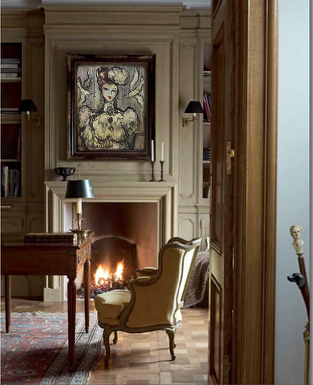 d co tableau personnaliser son int rieur michel marie poulain l 39 l gante. Black Bedroom Furniture Sets. Home Design Ideas