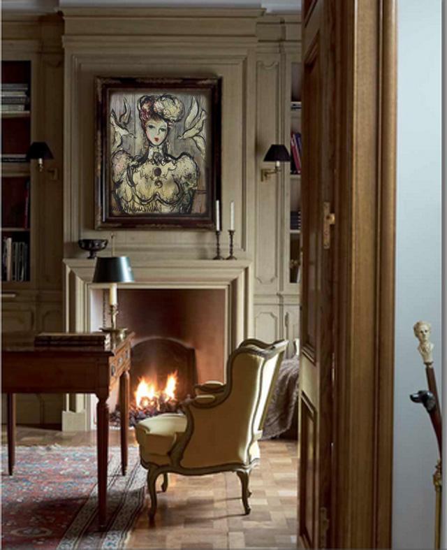 d co tableau personnaliser son int rieur michel marie poulain l 39 l gante. Black Bedroom Furniture Sets. Home Design Ideas