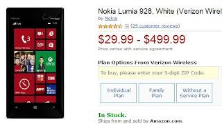 Spesifikasi dan Harga Nokia Lumia 928 Bulan Juli 2013