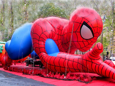 Thanksgiving Day Parade Clip Art Spiderman