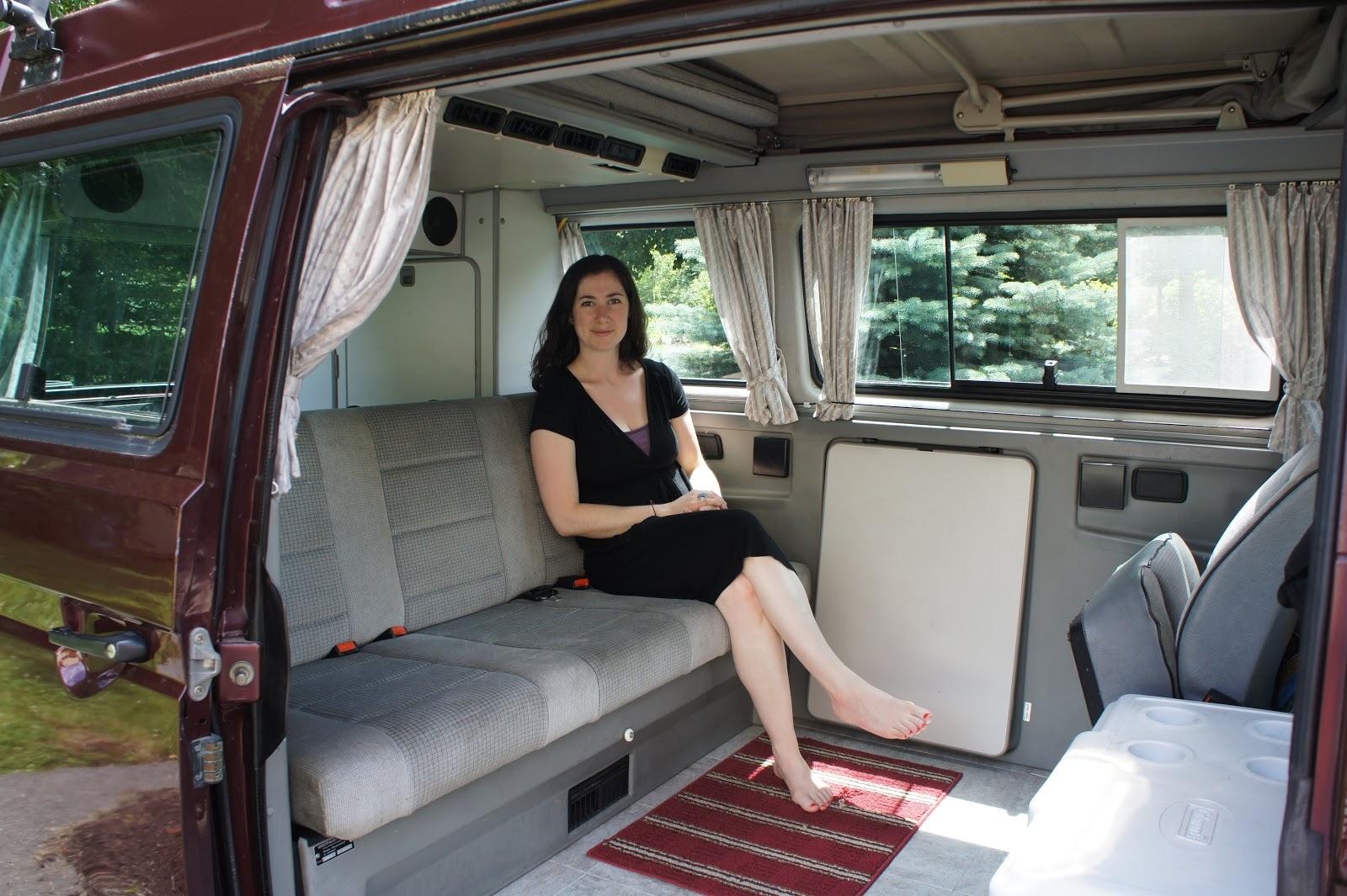 Vanagon Travels: VW Vanagon Road Trip and Photo Blog: Take a Tour: Vanagon Interior
