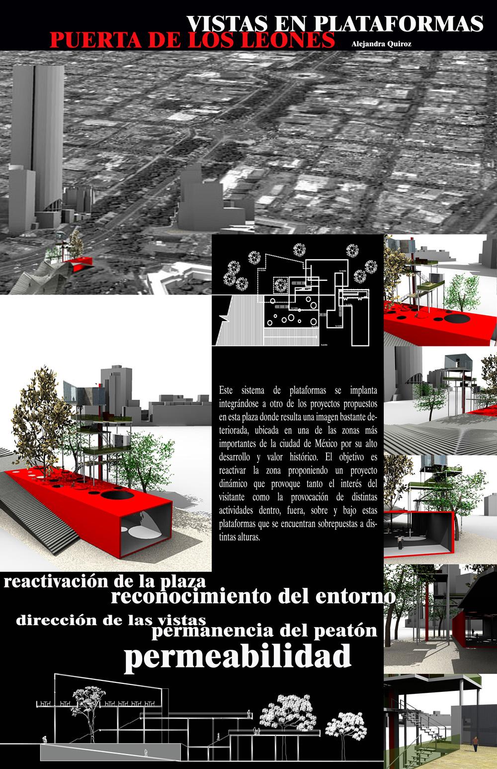 Arq calahorrano macay mario laminas arquitectonicas for Laminas arquitectura