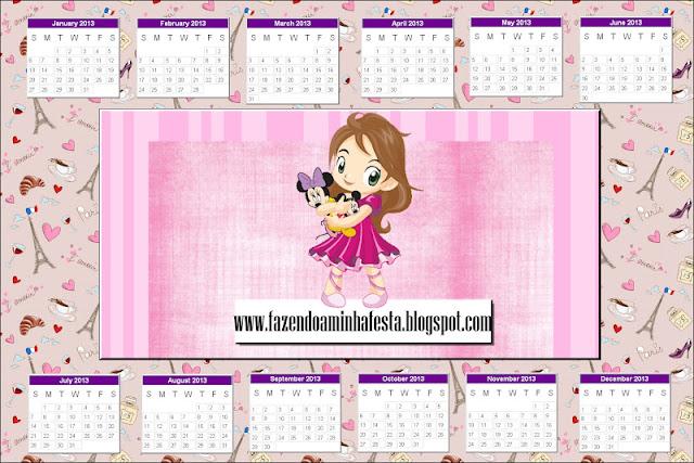 ... rápido, já saiu o novo molde do calendário para o ano de 2013