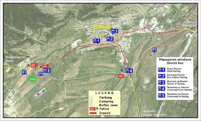Карта автобуси Разлог Elevation 2011