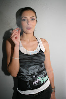 adrianne curry smoking