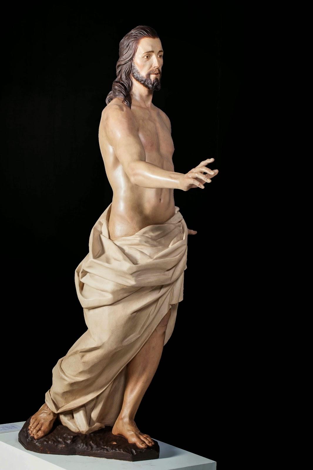 Resucitado Semana Santa Jumilla escultura 3