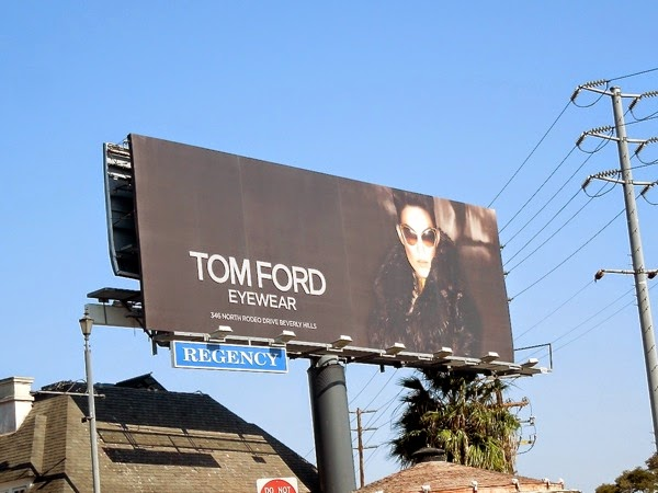 Tom Ford Eyewear October 2012 billboard