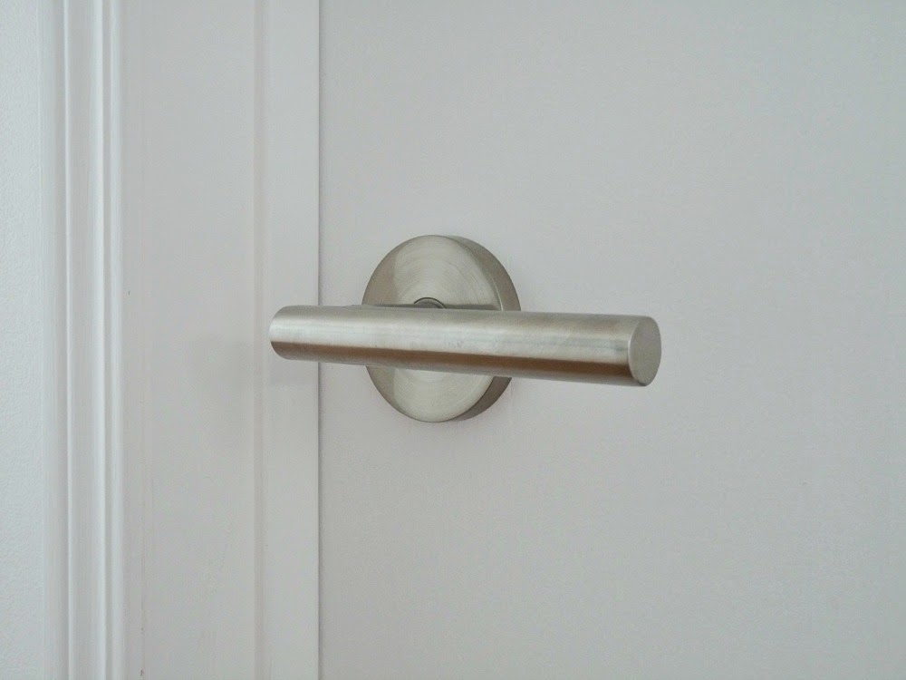 Retro Inspired Door Lever