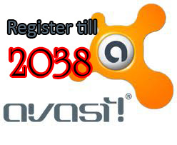 Avast Register till 2038