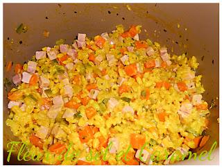 Poêlée de blé aux carottes et courgettes (Multicuiseur)