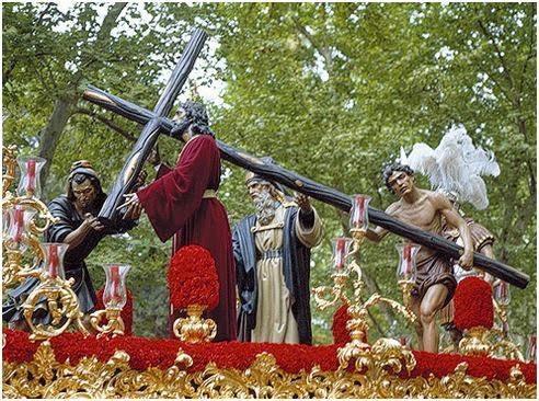 Paso Ntro. Padre Jesús de la Victoria - Sevilla