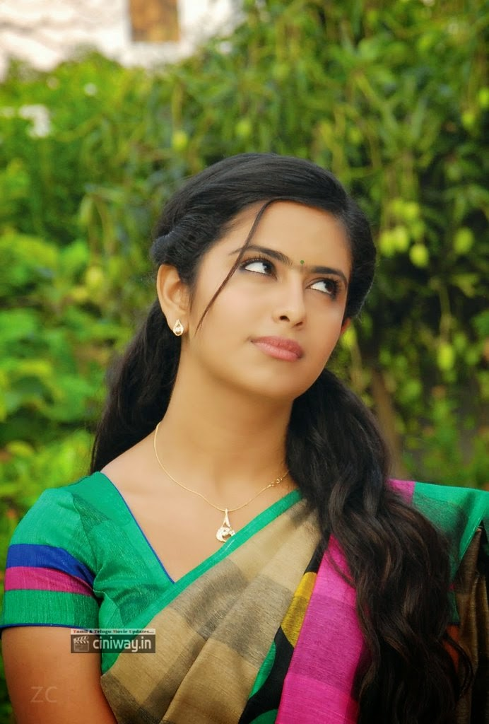 Avika Gor latest Stills in Saree in Lakshmi Raave Maa Intiki