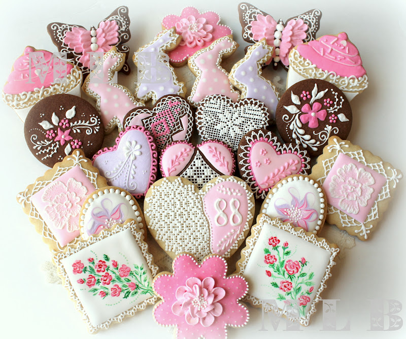 My Little Bakery 🌹: Birthday Cookie Set