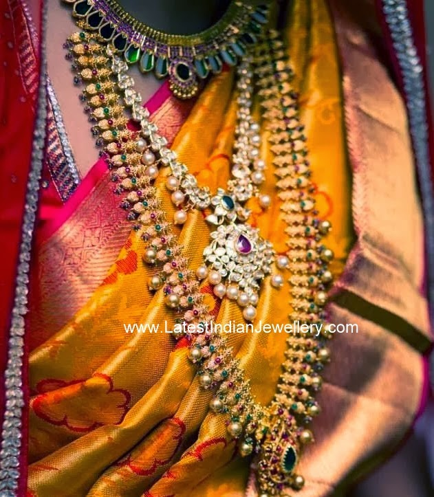 Indian Bride in Gold Jewelry