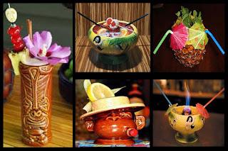 decoración de cocteles y bebidas