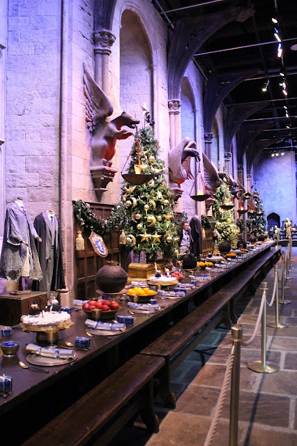 Harry Potter Grand Hall Christmas