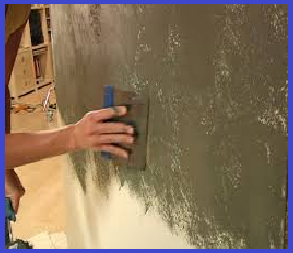 Painting plaster walls
