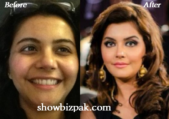 Actresses without Makeup: Nida Yasir without Makeup
