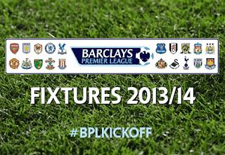 Jadwal Liga Inggris (Premier League) 2013/2014 Lengkap