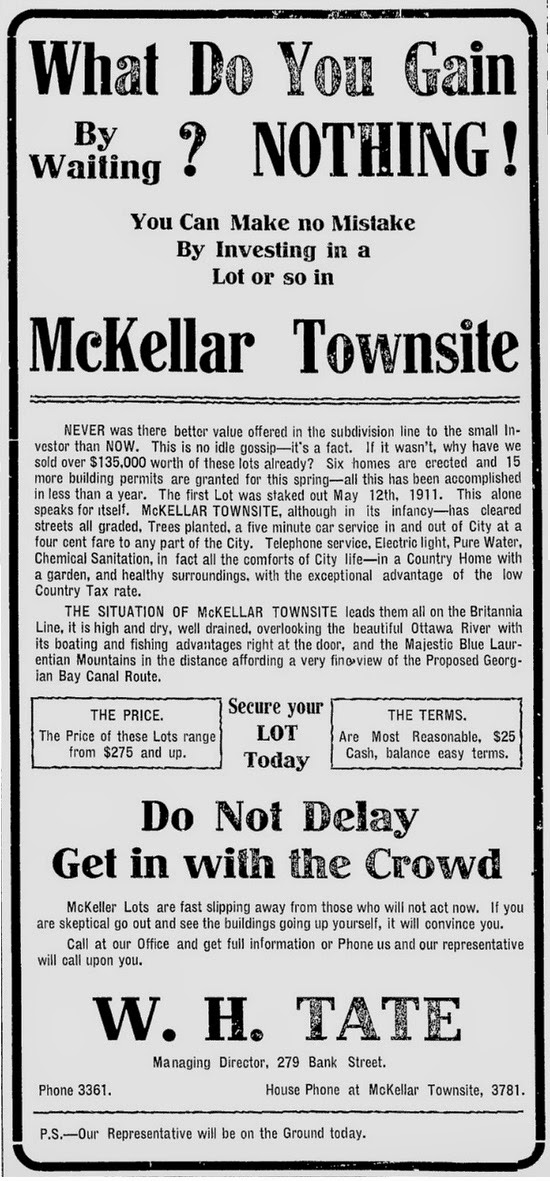 Ottawa Citizen, May 4th, 1912