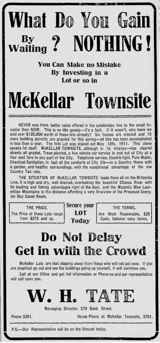 Ottawa Citizen, May 4th, 1912
