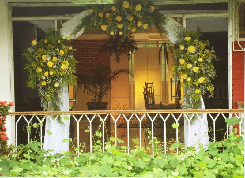 Arcos de Bodas con Flores, parte 3