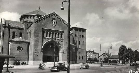 Nantes la ville d 39 apr s guerre nantes glise sainte th r se - Eglise sainte therese guilherand granges ...