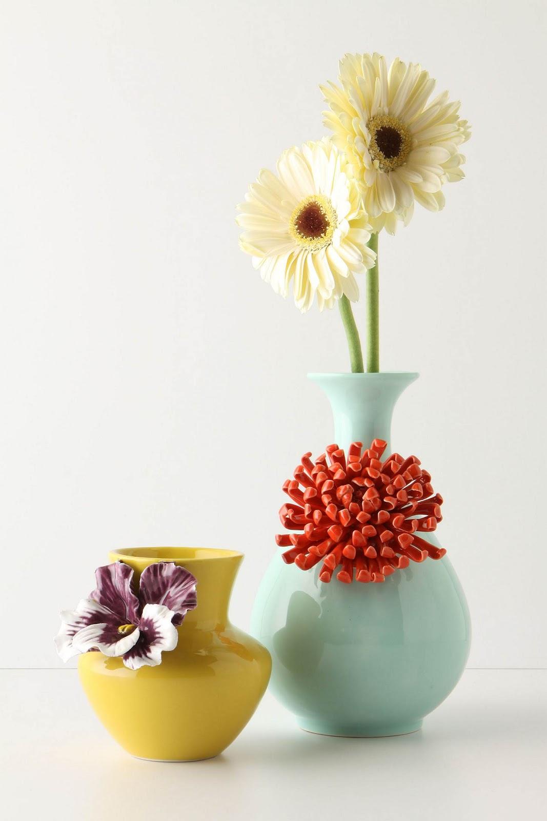 twenty8divine Anthropologie Flower Vases I Love You