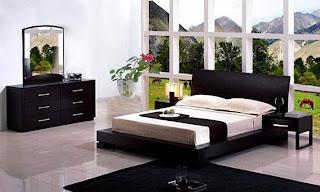 large bedroom window