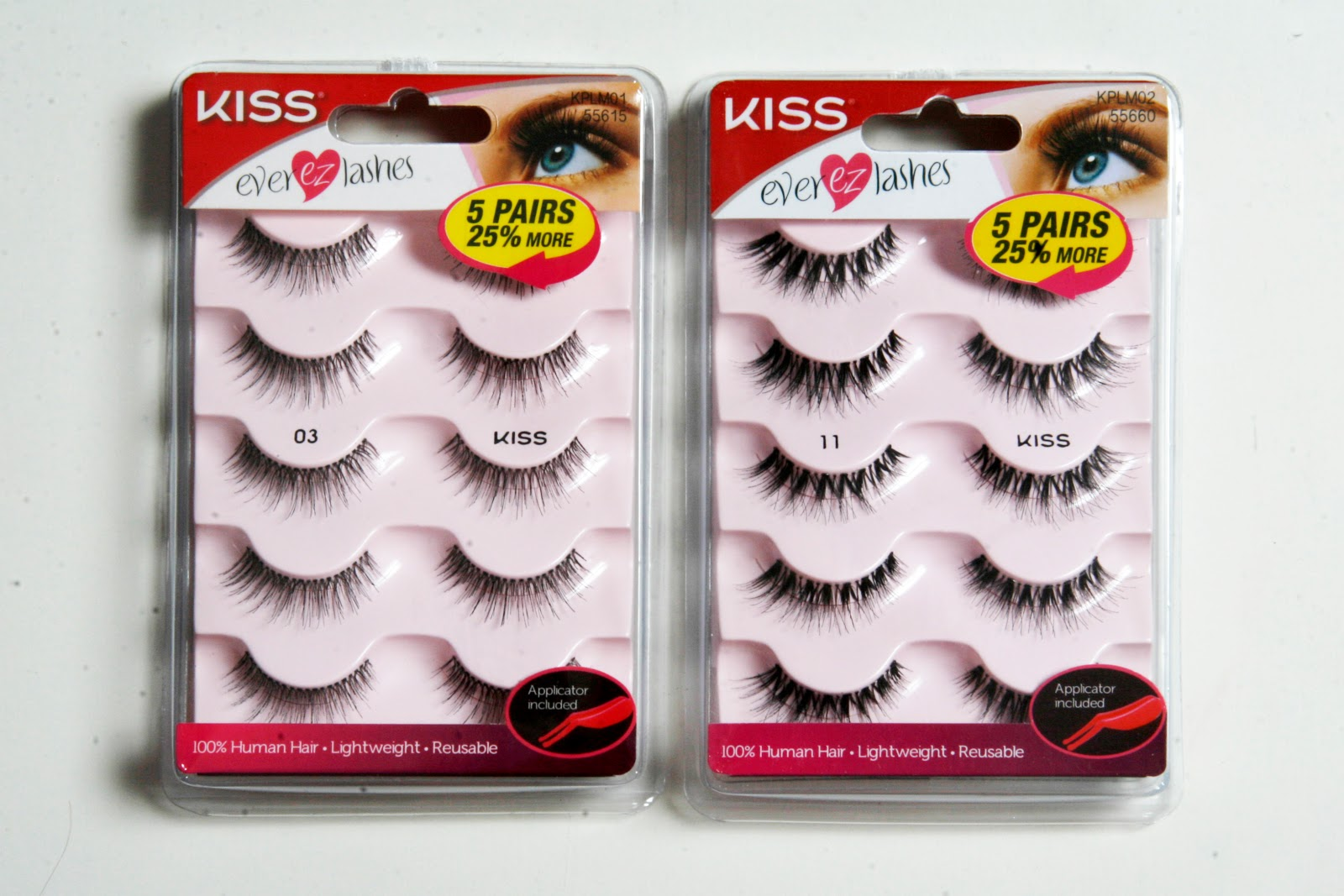 Top 3 Chic False Eyelashes