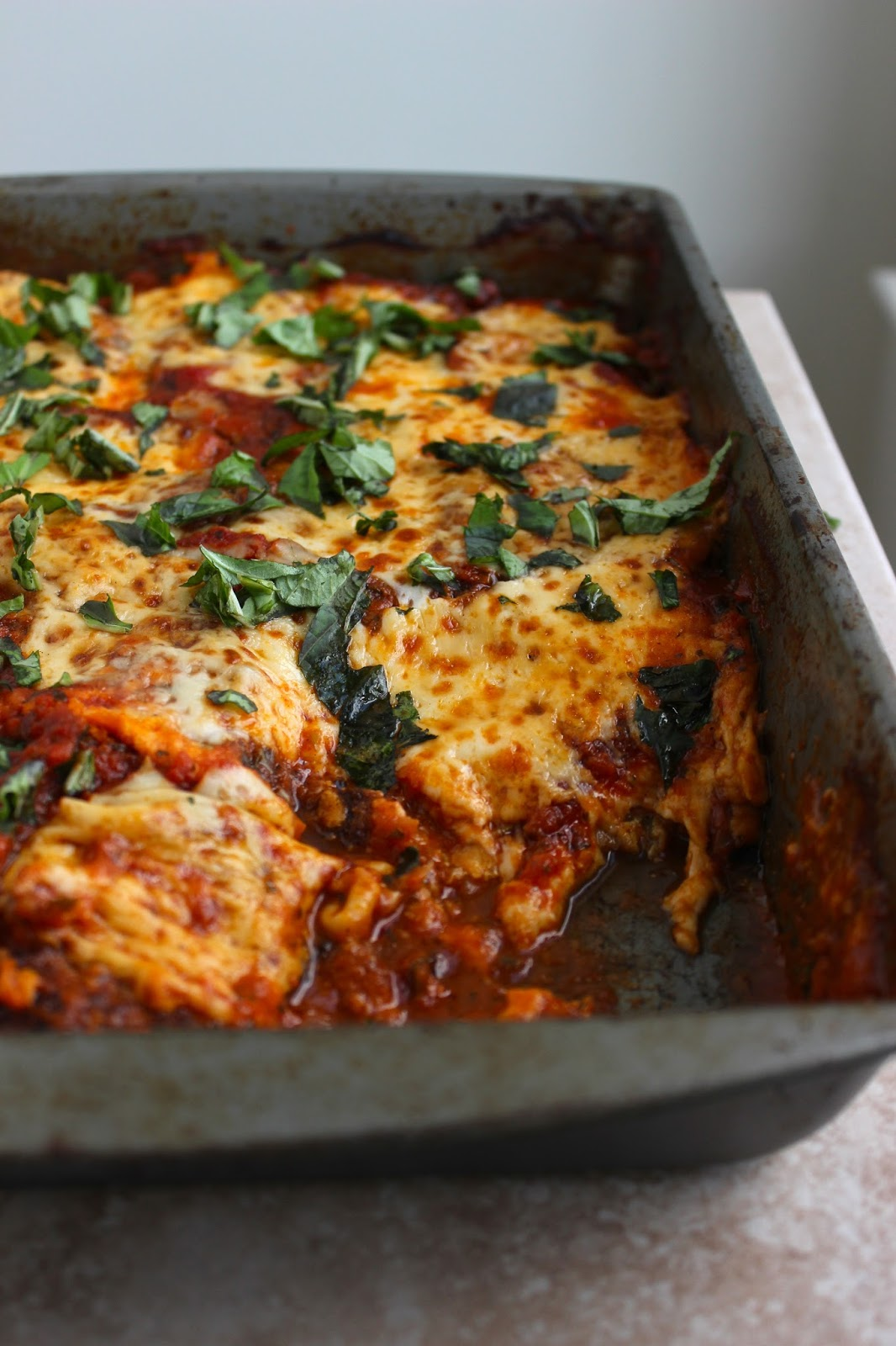 Stew or a Story: Best Ever Eggplant Parmesan