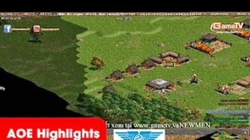 AOE Highlights, thế tàn đua nhau quản map, bên nào vẹo trước bên ấy thua