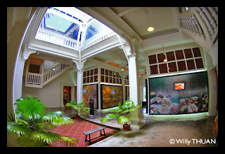 inside Thai Hua Museum in Phuket Town