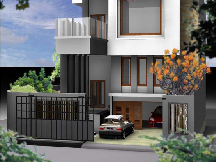Aneka ide Desain Rumah Minimalis 2 Lantai Unik 2015 yang perfect