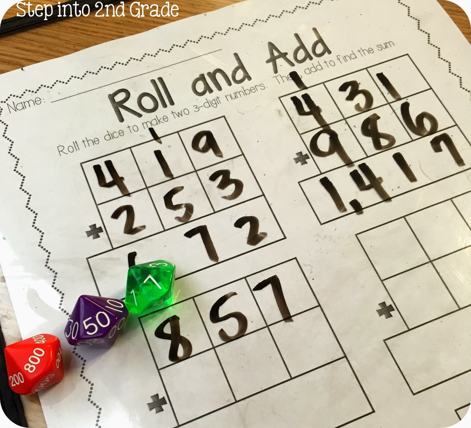 ... digit addition with : Addition Regrouping Lesson Plans 2nd Grade