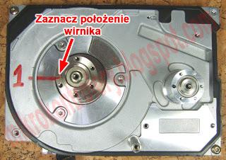 Silnik BLDC - Oznaczenie pozycji wirnika.