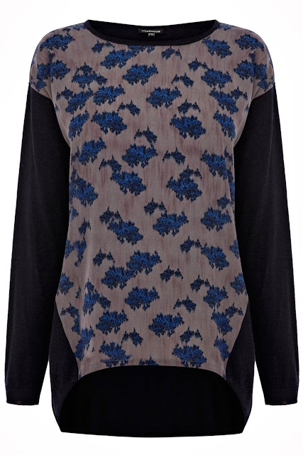 woven front jumper