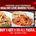 Pepper and Peppers Healthy Love Month Promo